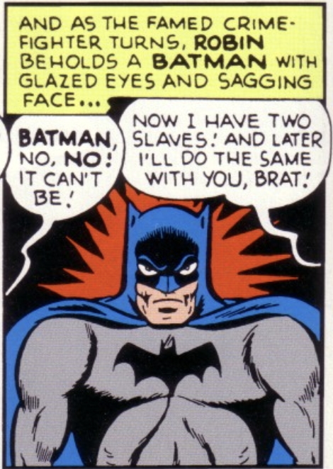 A panel from Detective Comics #135, March 1948