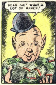 Mr. Zrr from Captain America #67, May 1948