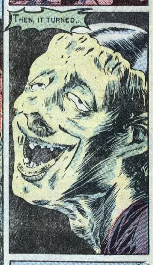 A panel from Haunt of Fear #17, May 1950