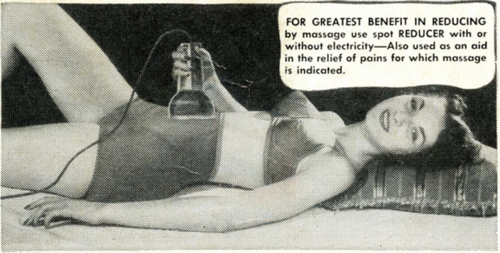 """Another ad for the """"Electric Spot Reducer""""."""