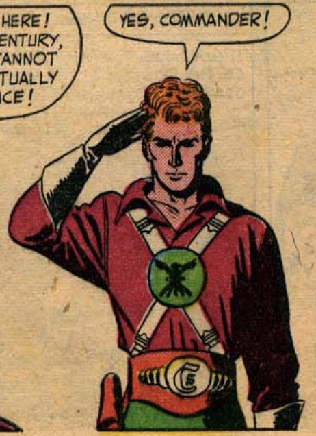 A panel from Mystery In Space #1, February 1951