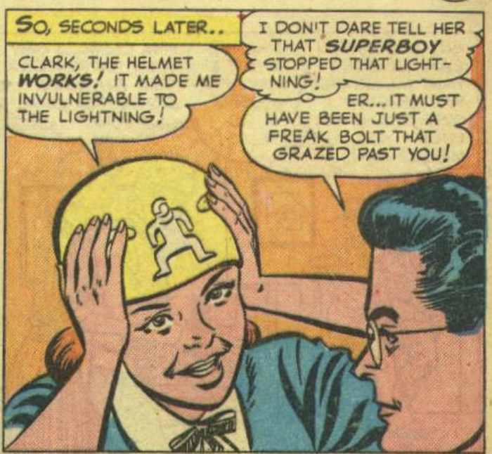 A panel from Adventure Comics #167, June 1951