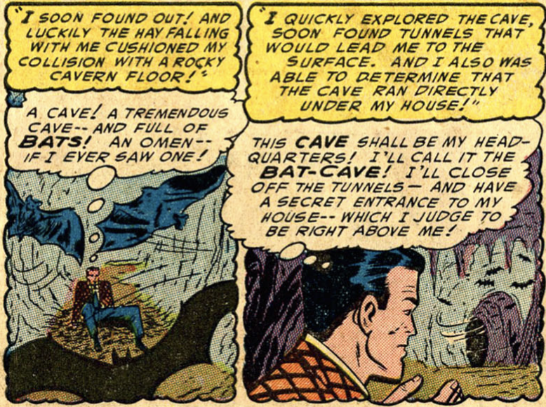 Another panel from Detective Comics #205, January 1954