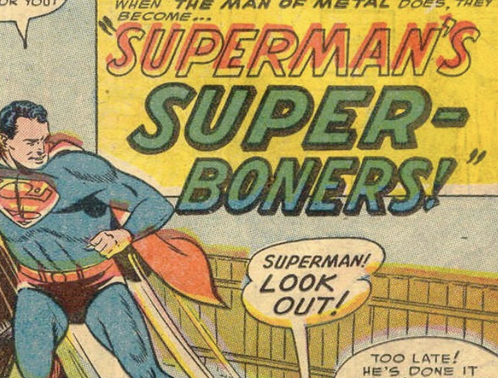 A panel from a story in Superman #87, December 1953