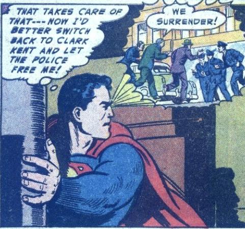 Curt Swan's Superman in more Action Comics #189, December 1953