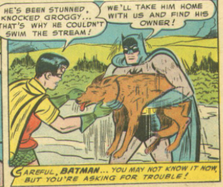 Another panel from Batman #92, April 1955
