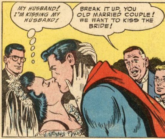 Another panel from Action Comics #206, May 1955