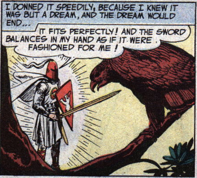 An image of the Silent Knight from The Brave & the Bold #1, June 1955