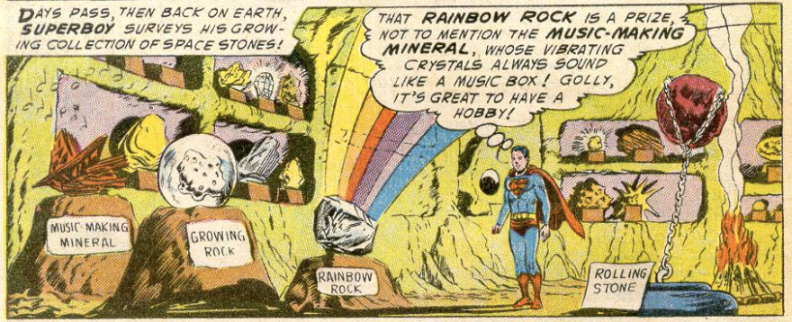 A panel from Adventure Comics #215, June 1955
