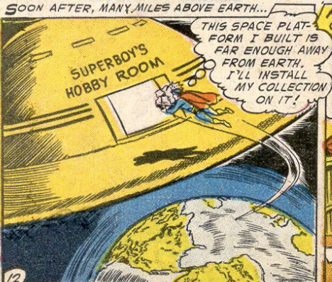 Another panel from Adventure Comics #215, June 1955