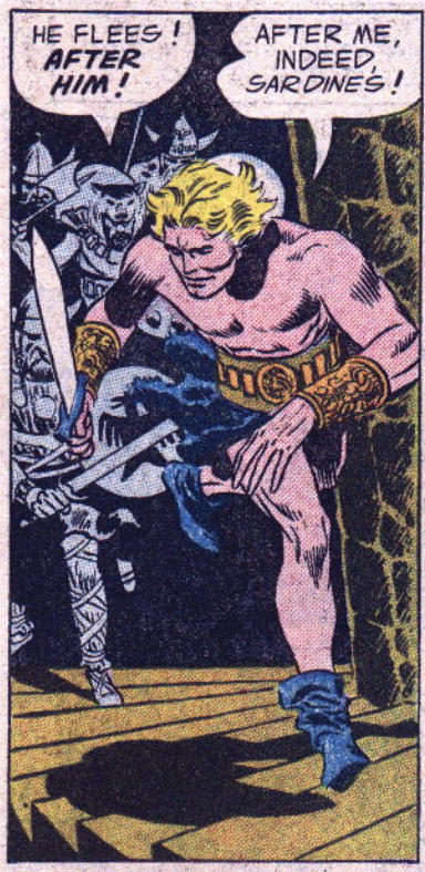 A panel from The Brave & The Bold #1, June 1955